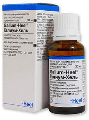 Галиум-хель — инструкция по применению, цена