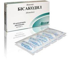 Бисакодил — инструкция по применению, цена