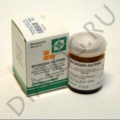 Фузидин-натрий — инструкция по применению, цена