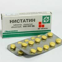 Нистатин таблетки и свечи — инструкция по применению, цена