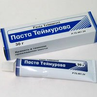 Теймурова паста — инструкция по применению, цена