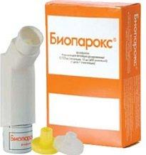 Биопарокс — инструкция по применению, цена
