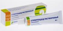 Стрептоцид растворимый — инструкция по применению, цена