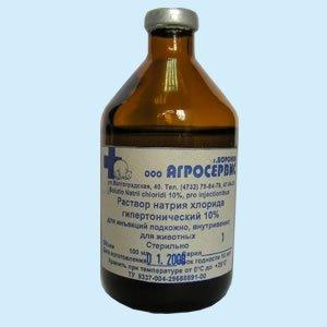 Натрия хлорида раствор гипертонический — инструкция по применению, цена