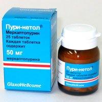 Меркаптопурин — инструкция по применению, цена