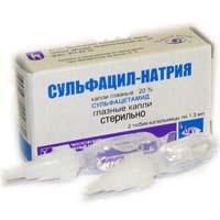 Сульфацил натрий — инструкция по применению, цена