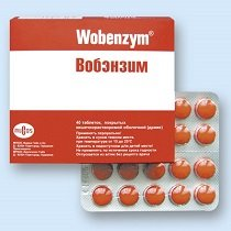 Вобэнзим — инструкция по применению, цена