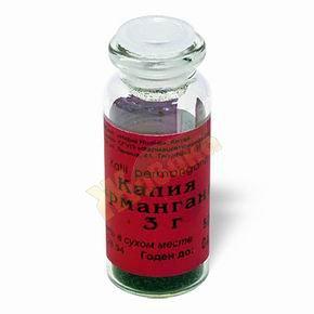 Калия перманганат — инструкция по применению, цена