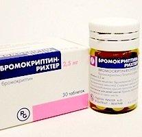 Бромокриптин — инструкция по применению, цена
