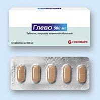 Глево 250, 500 мг — инструкция по применению, цена