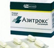 Азитрокс — инструкция по применению, цена