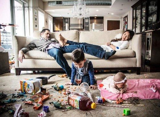 Сложности в семейной жизни.