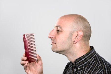 В борьбе с облысением поможет «гусиная» кожа