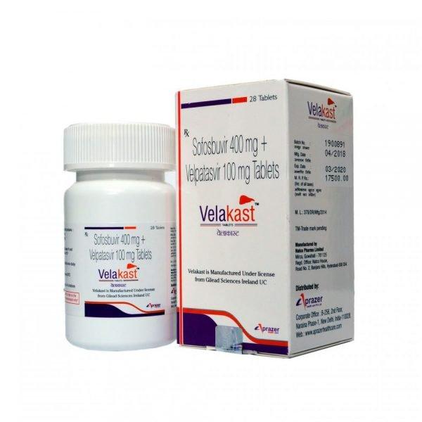 Препарат от гепатита С.