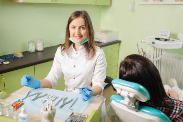 Визит к стоматологу.