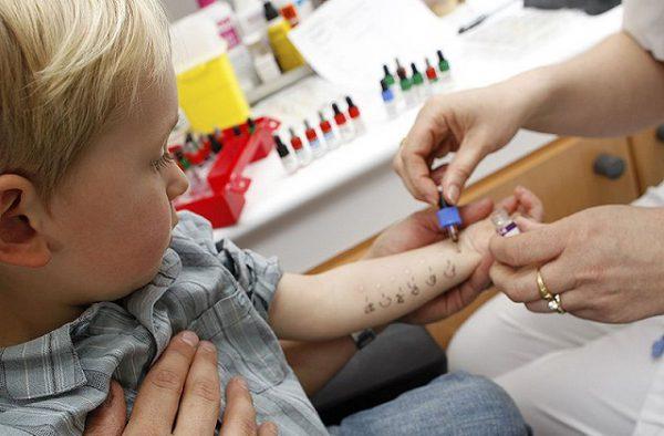 Причины аллергии у детей.