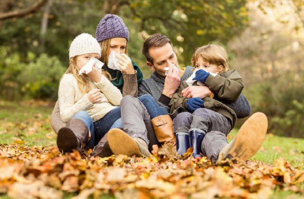 Профилактика ОРВИ осенью у детей и взрослых.